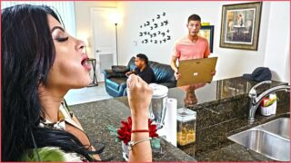 BANGBROS – Kitty Caprice Gets Her Latin Big Ass Fucked While Her BF Is Home